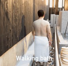 Walking bath